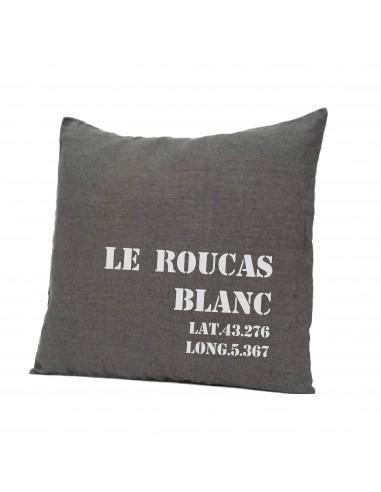 Coussin LE ROUCAS BLANC