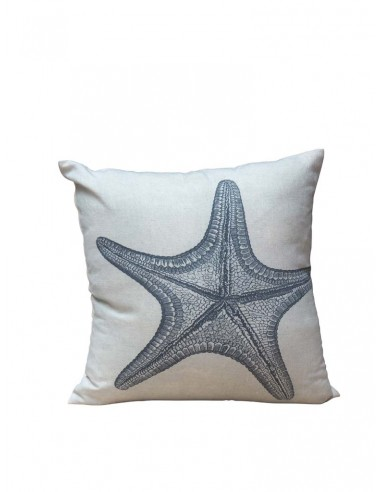 Coussin carré étoile de mer
